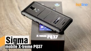 Sigma mobile X treme PQ37 — обзор защищенного смартфона