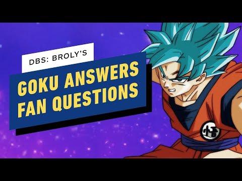 Dragon Ball Super: Brolys Goku Answers Fan Questions