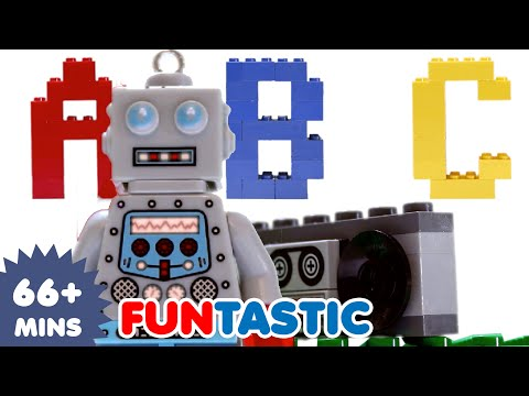 ABC Song | Lego Alphabet Song | ABCs | Nursery Rhymes | Kids Songs
