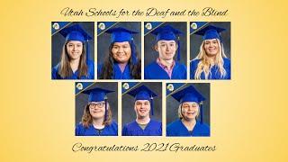 2021 USDB Graduation Senior Slides - Audio Described