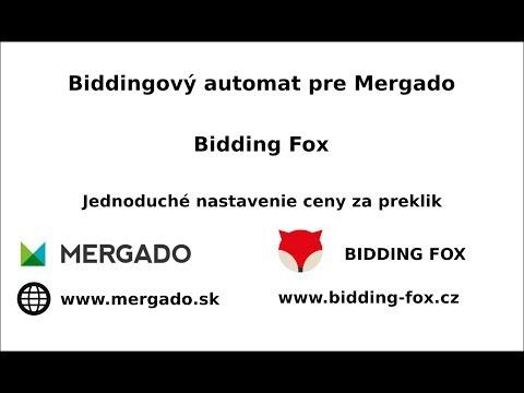 Aplikácia Bidding Fox