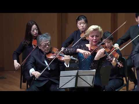 Thierry Huillet Concerto porteño (2&3d mvt) for violin by Cernat, Huillet & KCO live