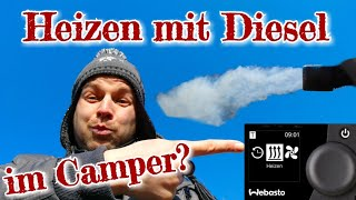 Alles was DU über das Heizen mit DIESEL im Camper wissen musst - Webasto Airtop Luftheizung