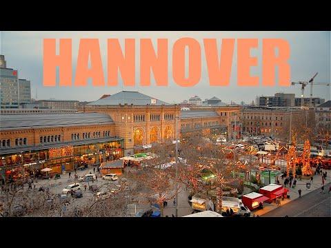 Hannover attractions in 4K Lower Saxony Germany   Landes Niedersachsen