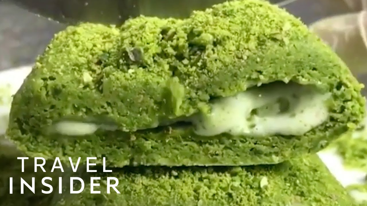 How Traditional Ice Cream Is Made In Turkey