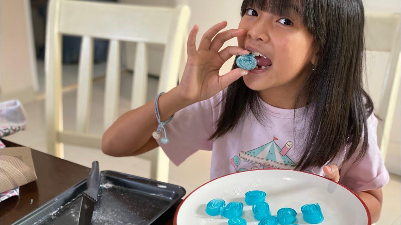 Cara Membuat Camilan Jelly | Resep Yupi Gulung | Masak Bareng Zara Cute