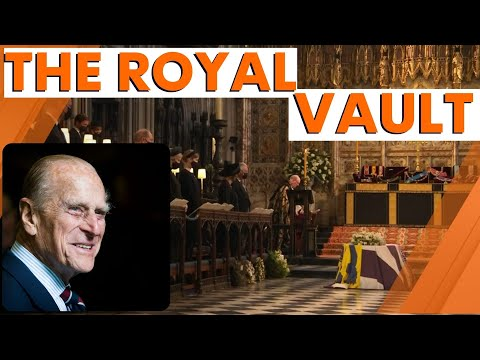 Prince Philip's coffin lowered into vault at St George's chapel during Royal funeral   7NEWS