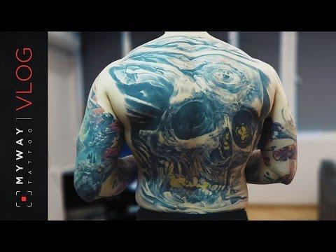Мои татуировки. ЗАБИЛ 70% ТЕЛА - Познавательные и прикольные видеоролики