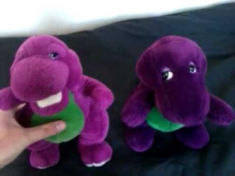 Two Barney The Backyard Gang Dolls YouTube - Barney and friends backyard gang doll