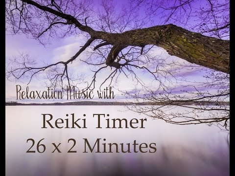 Reiki Timer with Music (Piano and Strings) and 2 Minute Bell Timer ~ 26 Positions