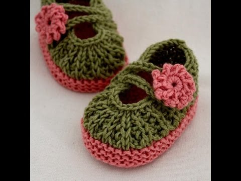 Easy Baby Booties Knitting For Beginners Youtube