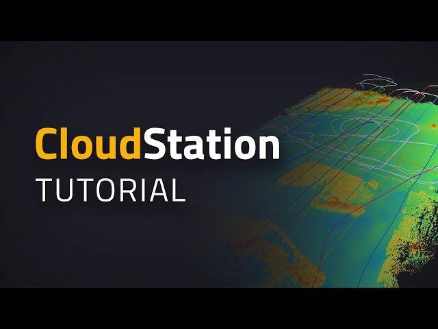 CloudStation - Simplifique la exportación de archivos LAS