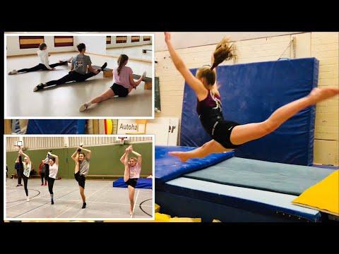 Training am Sonntag 💪 Turnen 🤸♀️Akrobatik🤸♂️ Tanzmariechen 👯♀️offenes Training 1.TSV Bottrop