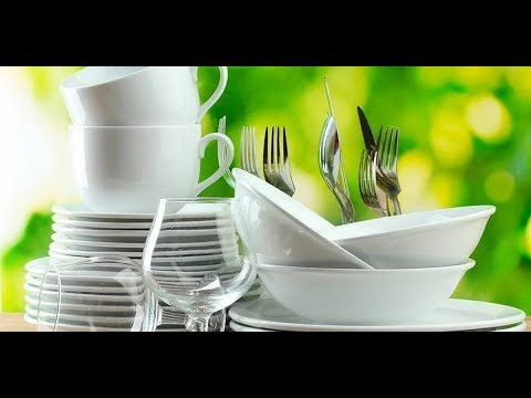 Как отмыть тарелки от желтого налета в домашних условиях