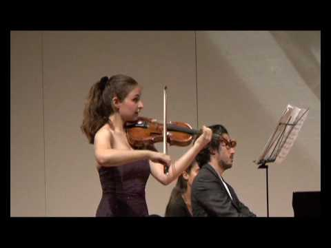 Alexandra Soumm and Aimo Pagin play Grieg Sonata No 3 c moll