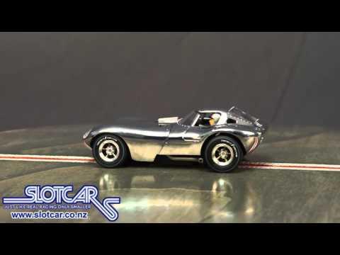 27432 Carrera Evolution Slot Car Bill Thomas Cheetah Aluminium Slotcar