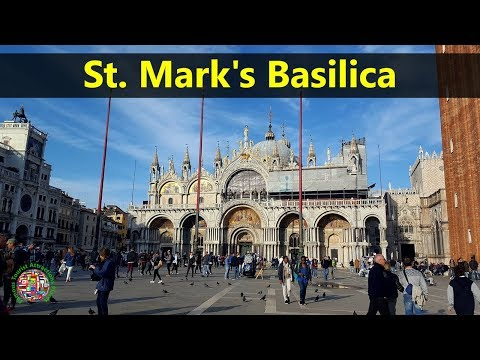 Best Tourist Attractions Places To Travel In Italy | St. Mark's Basilica Destination Spot