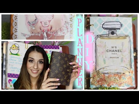 Decorate Your Planner With Me⎜DIY Divider⎪Tumblr & Pinterest Inspired⎜Filofaxing⎜Marianna