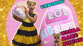 Video BEST BIG LOL SURPRISE DOLL GIANT LOL BIG SURPRISE ULTRA RARE FOUND REAL LIFE SIZED LOL QUEENBEE DOLL download MP3, 3GP, MP4, WEBM, AVI, FLV Agustus 2018
