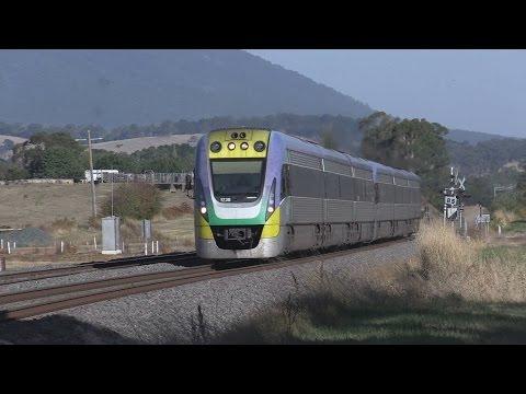 Speeding through Carlsruhe : Australian Railways