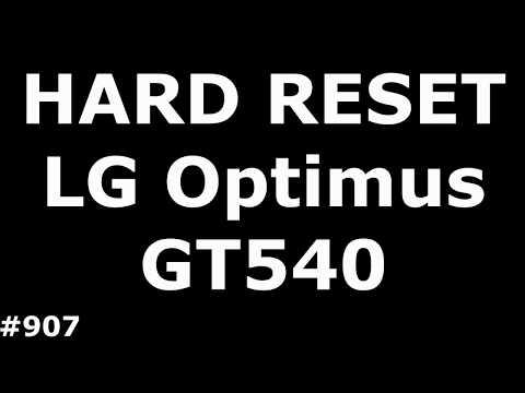 Сброс настроек LG GT540 (Hard Reset LG GT540 Optimus)