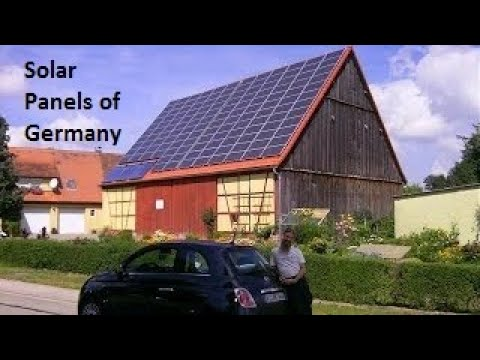 Solar Panels of Germany