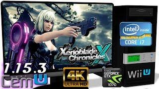 CEMU 1.15.3 [Wii U] - Xenoblade Chronicles X [4K-Gameplay] OpenGL #33