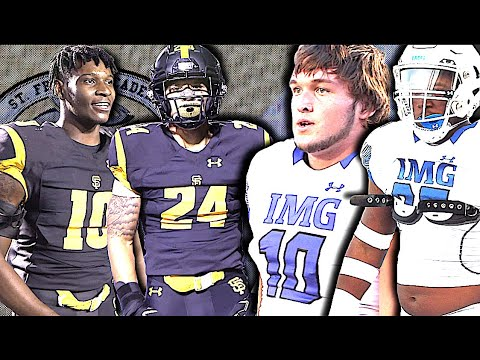 IMG Football (FL) V St Frances Academy (MD) National Programs CLASH | EPIC SHOWDOWN 40+ W/ D1 Offers