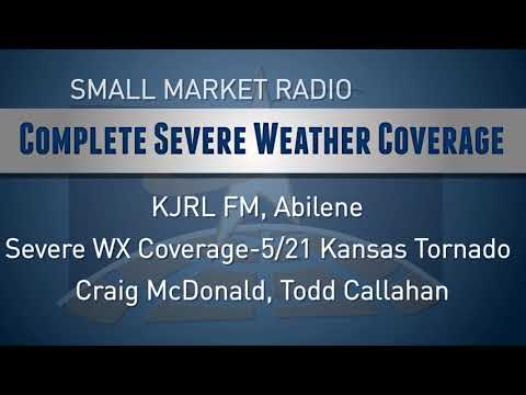 KAB Awards First Place C-12:  Complete Severe Weather Coverage KJRL FM