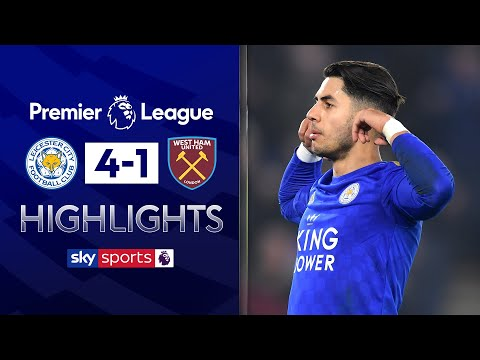 Perez brace helps Foxes return to winning ways | Leicester 4-1 West Ham | Premier League Highlights