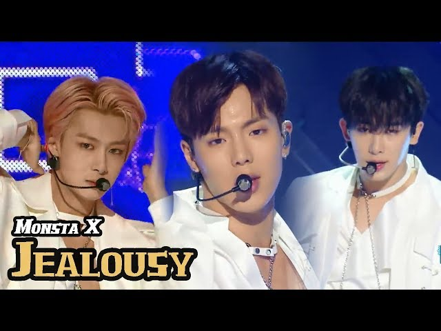 [HOT] MONSTA X - Jealousy, 몬스타엑스 - 젤러시 Show Music core 20180414