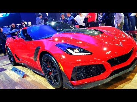 Chevy Corvette ZR   Autoshow  Toronto