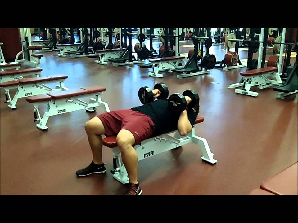 Close Grip Dumbbell Bench Press Youtube
