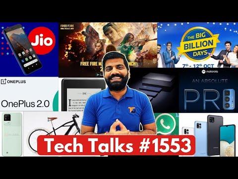 Tech Talks #1553 - iPhone 13 Surprise, JioPhone Next Subsidy, FreeFire Max, New OnePlus UI, F42 5G