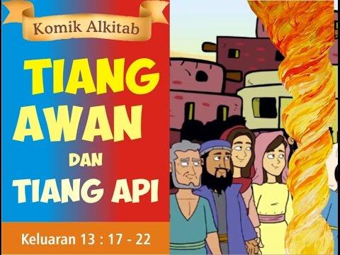 Tiang Awan Dan Tiang Api Slide Cerita Komik Alkitab Anak Sekolah