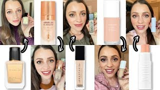 TRYING_5_NEW_FOUNDATIONS_+_Drugstore_Foundations_I_Like_Better...