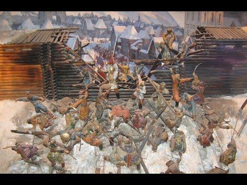 Монголо-татарское нашествие на Русь.Оборона Рязани.Евпатий Коловрат.Часть 1.