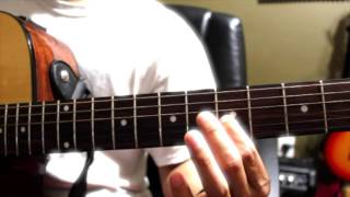 Myo Gyi guitar intro and solo tutorial (လြမ္းတဲ့စိတ္) lwan telt seit