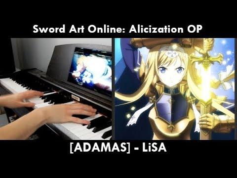 [1k Sub Special] ADAMAS - Sword Art Online: Alicization OP - (Piano Cover) | LiSA |
