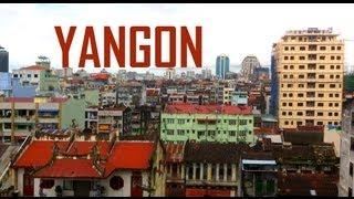 Yangon Myanmar : Yangon street life
