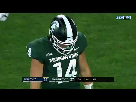Highlights: Utah State Aggies vs. Michigan State Spartans | Big Ten Football