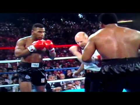 HD - Iron Mike Tyson Title Fight Vs Trevor Berbick - Heavyweight Boxing