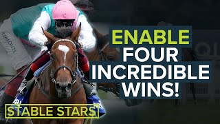 4 AMAZING ENABLE & FRANKIE DETTORI HORSE RACING WINS