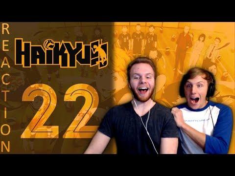 SOS Bros React - Haikyuu Season 1 Episode 22 - Karasuno Fights Back!!