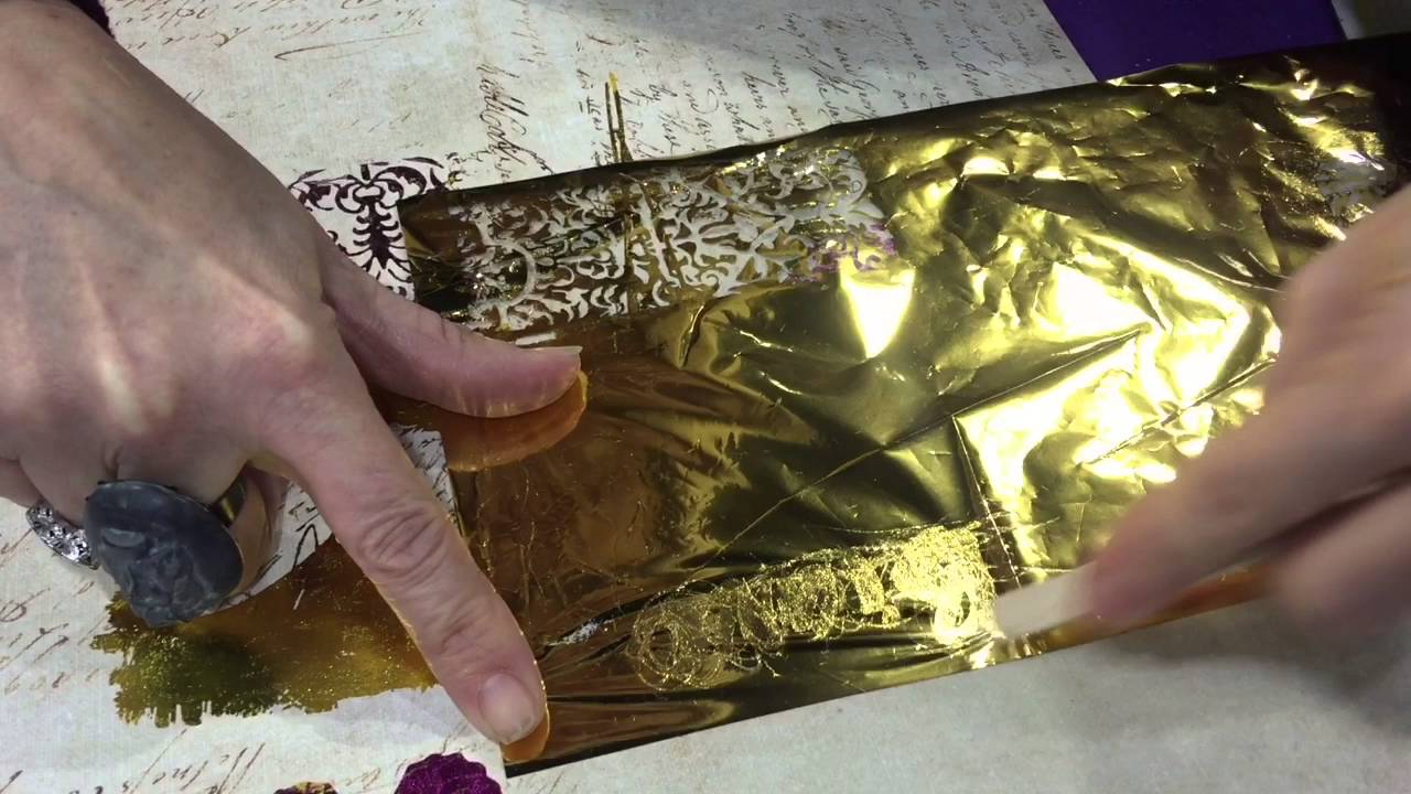 How to Use Transfer Foil, the Inexpensive Way - Cloth Paper Scissors