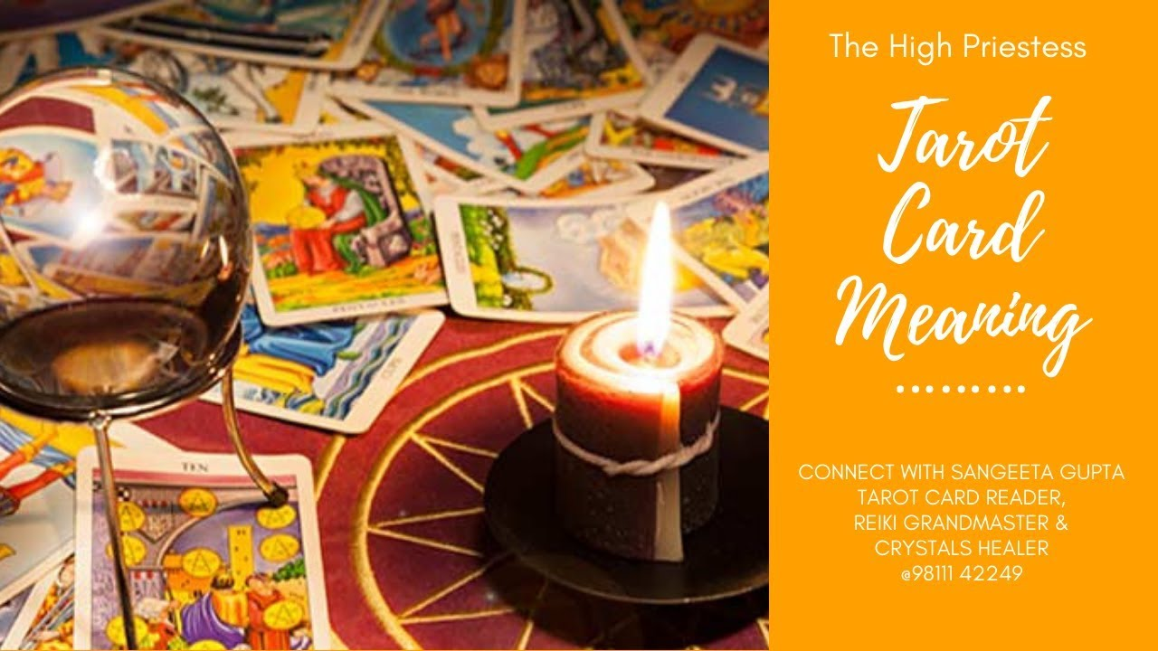 The High Priestess - Tarot Card - Best Tarot Reader Delhi - Sangeeta  Healing Temples - 9811142249