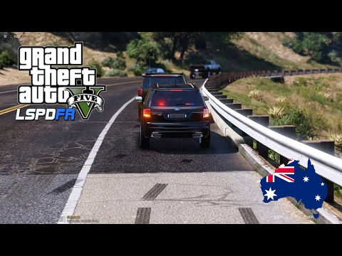 GTA 5 - LSPDFR Australia LIVE - Unmarked QPS Ford Territory Patrol (Play GTA 5 as a cop mod for PC)