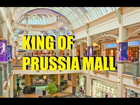 Largest Mall in U.S:  King of Prussia Mall
