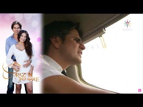 ¡Octavio sufre un temible accidente!   Corazón indomable - Televisa