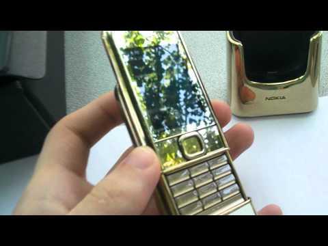 Nokia 8800 Arte Gold 100% genuine,lifetimer 1h,like new,for sale!